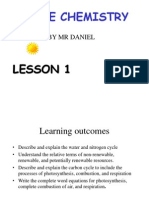 Igcse Topic 1 Lesson 1 Water Cycle Igcse