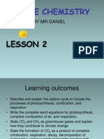 Lesson 2 Igcse Chemistry Carbon Cycle