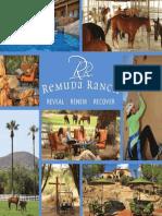 Remuda Ranch Brochure