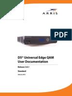 d5 Ueq User Doc 3 0 1 Std(Arris Ipqam d5用户手册)