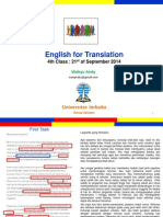 English for Translation Class4 Module5 (20140921).ppt