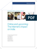Online and Upcoming the Internets Impact on India
