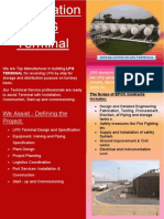 Installation of LPG Terminal