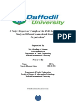 In Depth Study on Different International Standards