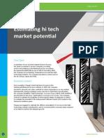 CS-Estimating Hi Tech Market potential