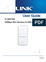 Tl-wn723n v2 User Guide