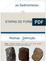 5º - Formação Rochas Sedimentares
