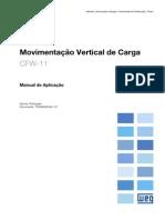 CFW-11 - Manual de Aplicação Para Movimentação Vertical de Carga R01 P 10000846249