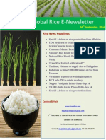 24th September,2014 Daily Global Rice E-Newsletter by Riceplus Magazine
