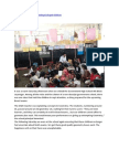 Music projects to serve underprivileged children