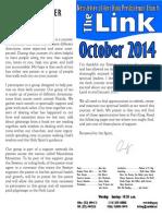 October 2014 LINK Newsletter