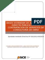 Adjudicacion Directa Publica Supervicion en Obra