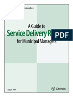 Service Delivery Review - Ministry of Housing August 2004