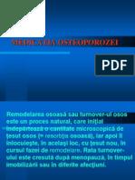 MEDICATIA OSTEOPOROZEI