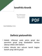 Pielonefritis Kronik