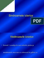 Sindroamele Icterice