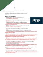 Powerplant Conceptual Questions