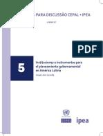 Instrumentos Para Planificación CEPAL