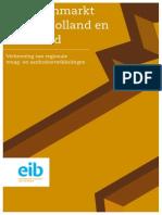 EIB Kantorenmonitor Noord-Holland en Flevoland 2012