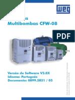 WEG Cfw 08 Aplicacoes Em Sistemas Multibombas 0899.5851 5.0x Guia de Instalacao Portugues Br