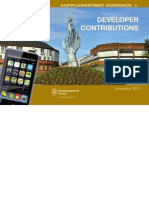 CD035 Proposed Supplementary Guidance 1 - Developer Contributions (November 2013)
