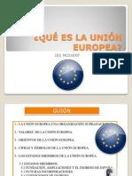 Qué Es La Unión Europea