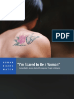 """""""I'm Scared to Be a Woman"""""""