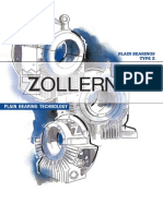 Zollern - Plain Bearing - Type Z