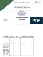 Plan de Accion Trimestral, Maternal II.