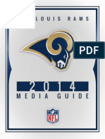 St. Louis Rams 2014 Media Guide