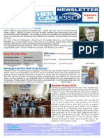 Kingsbury Newsletter Sep 2014