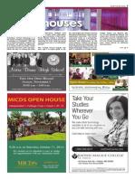School Open Houses - Fall 2014, SCT