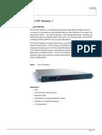 Cisco RF Gateway 1