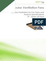Product Data Jet Fans