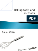 Baking Tools and Methods