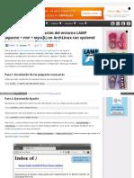 Gespadas Com Archlinux Systemd Lamp
