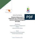 Plan Nac Accion Ee 2010-2020 Informe Final-ppee-pnaee -Udechile - 2010
