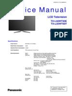 Panasonic Lcd [2012] TX-l55wt50 (La34)