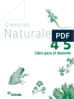 Actividades Ciencias Naturales 4 y 5 EGB