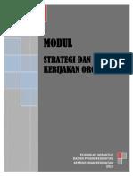 Modul 4-Strategi Dan Kebijakan Bidang Tugas Instansi