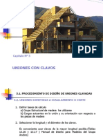 Cap. 6 Uniones Con Clavos y Pernos