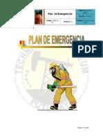 HSE-PL-01 Plan de Emergencias