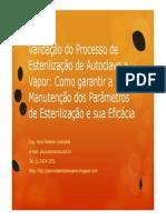 26-07PauloLaranjeirasValidacaodoProcessodeEsterilizacaodeAutoclaveavapor