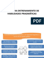 Programa Entrenamiento de Habilidades Pragmáticas