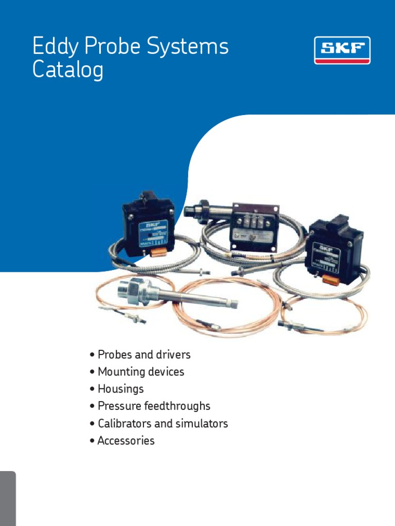 SKF Eddy current probes systems | Bearing (Mechanical) | Accelerometer