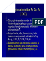 Caracteristicas IOCG