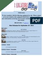 New Release September 25, 2014