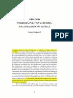 Sergio Tonkonoff Violencia,Política y Cultura
