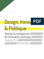 """Design, Innovation & Politique"" par Ryslaine Moulay"
