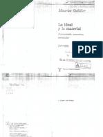 Lo Ideal y Lo Material. Godelier, Prologo